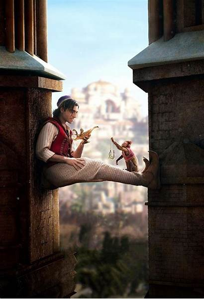 Aladdin Movies Background Wallpapers 4k Hollywood Resolution