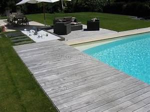 Bois Pour Terrasse Piscine : lame composite pas cher pour terrasse 7 nivrem terrasse ~ Edinachiropracticcenter.com Idées de Décoration