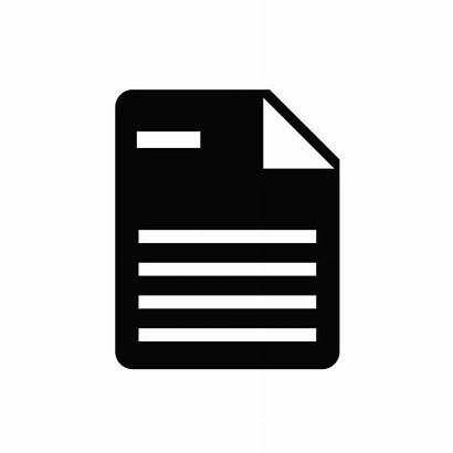 Icon Icons Document Documents Doc Paper Transparent