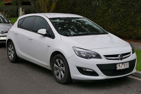 Opel Astra Hatchback by Bestand 2012 Opel Astra As 1 4 Turbo 5 Door Hatchback