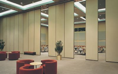 folding partitions  operable walls  interiors