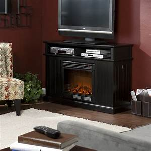 Holly Martin Fenton Media Electric Fireplace Black