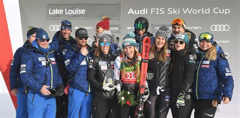 Historic Super-g Win For Shiffrin At Lake Louise