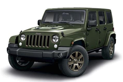 Jeep Wrangler 75th Anniversary Edition Announced