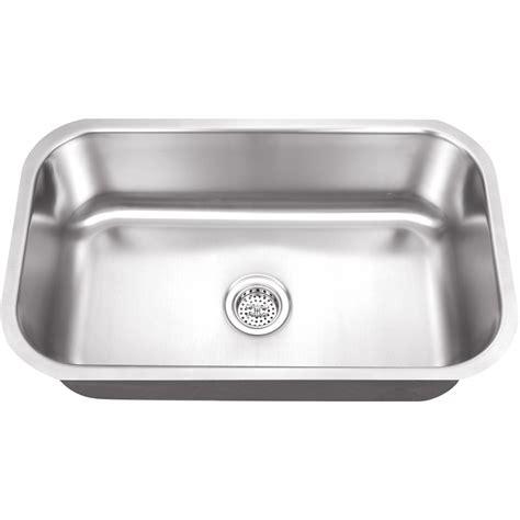 16 gauge stainless steel sink platinum sinks 30 x 18 16 gauge single bowl stainless
