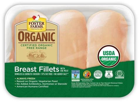ultra organic packaged meats foster farms