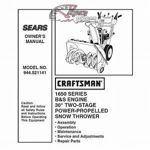 27 Craftsman Snowblower Parts Diagram