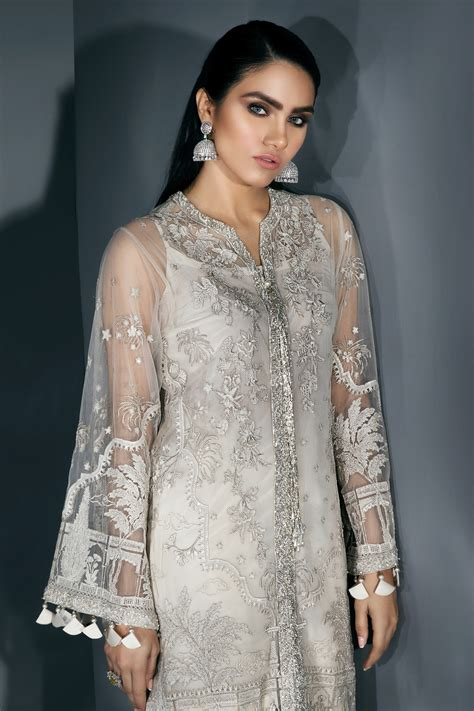Pakistani Party Wear Embroidered Shirts 2020-2021 Latest ...