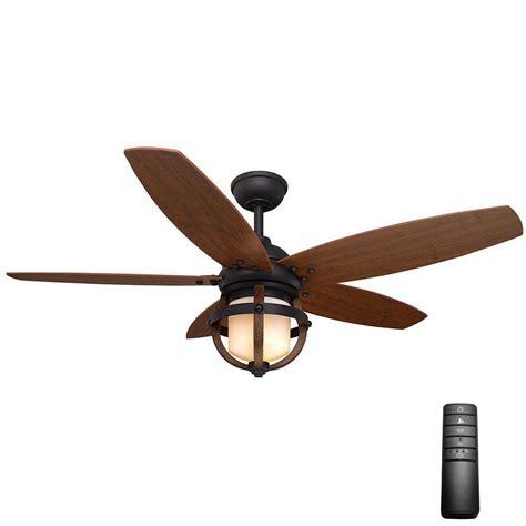 home decorators collection fan remote home decorators collection noah 52 in indoor forged iron