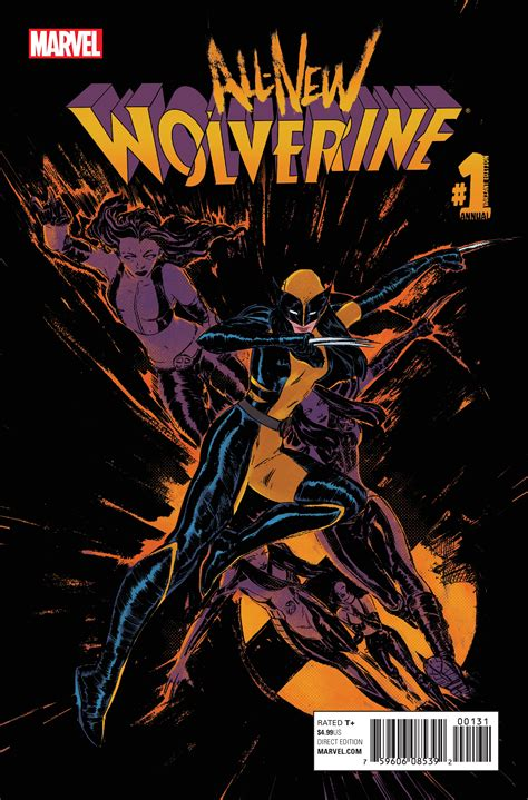 Exclusive Preview Allnew Wolverine Annual #1  Comic Vine