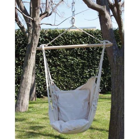 sedia amaca amaca sedia a dondolo seduta in cotone amaca da giardino 55516