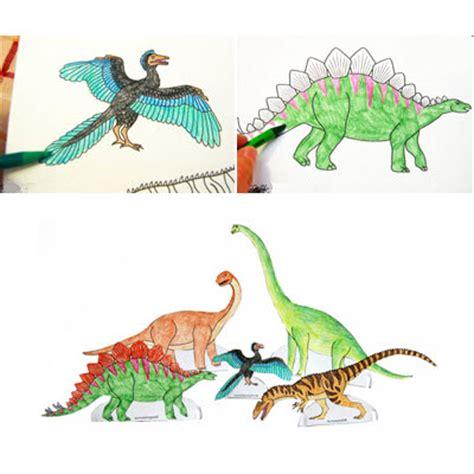 que faire dans sa chambre dessins de dinosaures à colorier