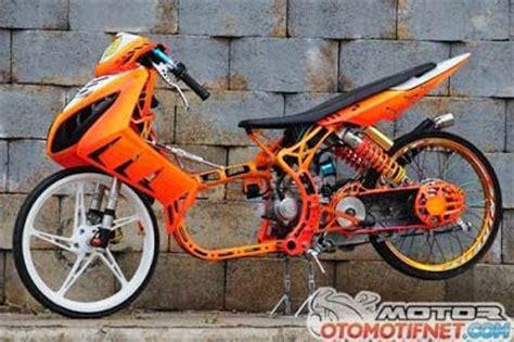 yamaha nouvo modifikasi yamaha nouvo drag bike yamaha nouvo balap modifikasi motor