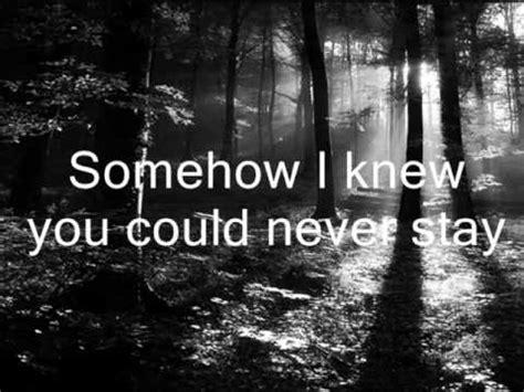 anathema   goodbye lyrics youtube