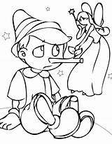 Pinocchio Coloring Printable sketch template