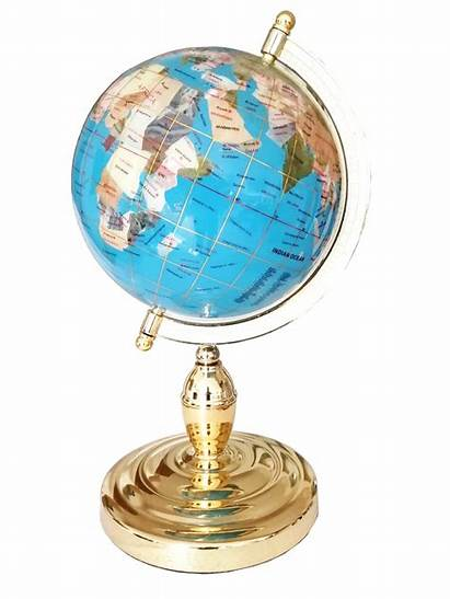 Globe Terrestre Gold Gemstone Sky Cm Gems