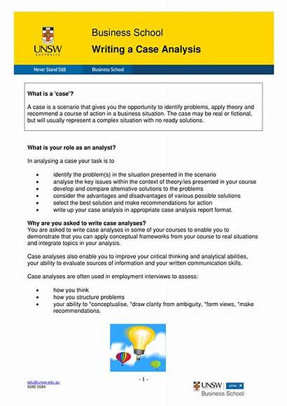 Business Case Analysis Example Examples Pdf Unsw