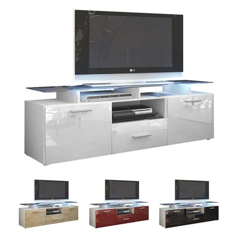 Sideboard For Tv by Tv Unit Stand Cabinet Sideboard Almada White High Gloss