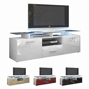 Tv Rack Weiß : tv board lowboard sideboard tisch rack m bel almada wei hochglanz naturt ne ebay ~ Whattoseeinmadrid.com Haus und Dekorationen