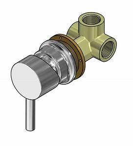 Mitigeur Thermostatique Monotrou Pour Baignoire : mitigeur chrom pour cabine de douche ~ Edinachiropracticcenter.com Idées de Décoration