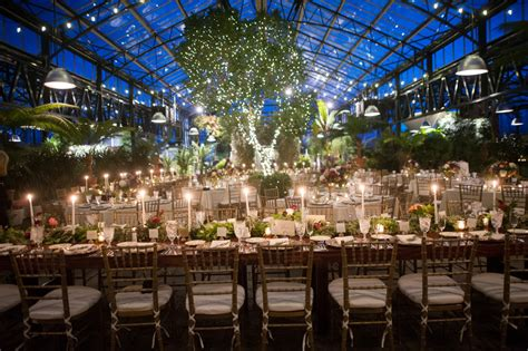 michigan wedding venue  botanical garden