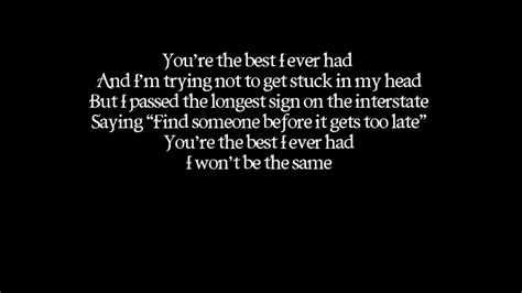 Best Of You Lyrics Gavin Degraw Best I Had Lyrics On Screen Audio