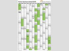 Ferien SachsenAnhalt 2019 Ferienkalender zum Ausdrucken