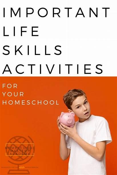 Skills Important Activities Homeschool Homeschoolmasteryacademy Include Adults
