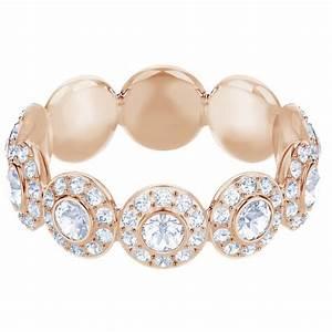 Bague Or Rose Swarovski : bague swarovski bijoux 5441199 acier dor rose cristaux swarovski femme sur bijourama ~ Melissatoandfro.com Idées de Décoration