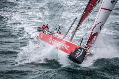 volvo ocean race video brutal offshore sailing action