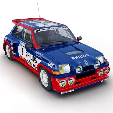 renault turbo rally renault 5 turbo rally car 3d 3ds