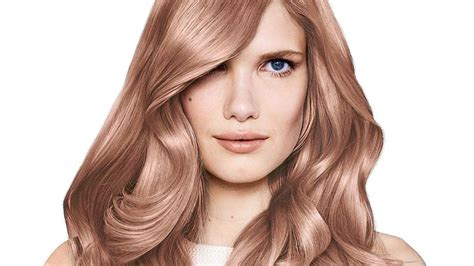 rose gold hair color idea   propel  daily