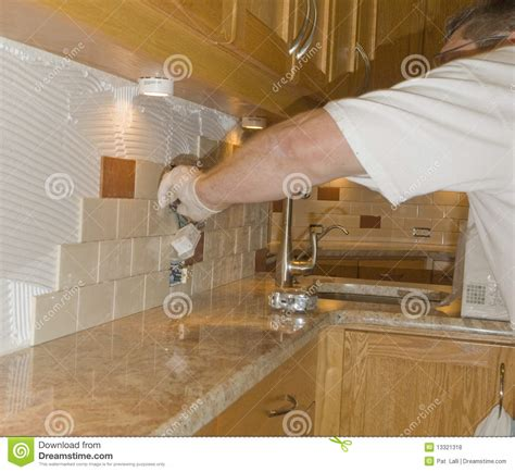 installing ceramic tile backsplash in kitchen ceramic tile installation on kitchen backsplash 12 royalty