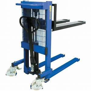 Britruck Work Positioners    Pallet Movers 1 000kg Capacity