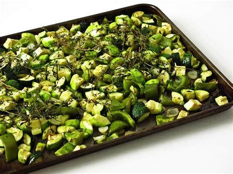 cuisiner des fleurs de courgettes courgettes rôties au four