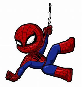 Baby clipart spiderman - Pencil and in color baby clipart ...