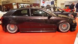 Audi A3 8p Alufelgen : audi a3 8p tuning at essen motorshow exterior walkaround ~ Jslefanu.com Haus und Dekorationen