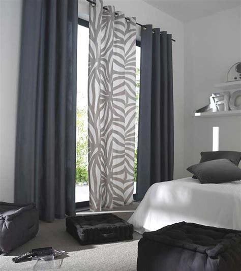 rideaux voilages cuisine voilage de cuisine voilage oeillets carrs lignato gris panneau de draperie oeillets argent