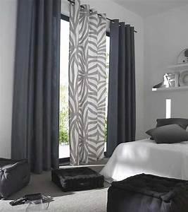 meilleur de rideau fenetre chambre ravizhcom With voilage porte fenetre cuisine