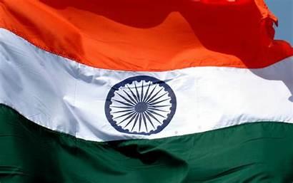Flag Indian Wallpapers Independence Desktop Republic Screen