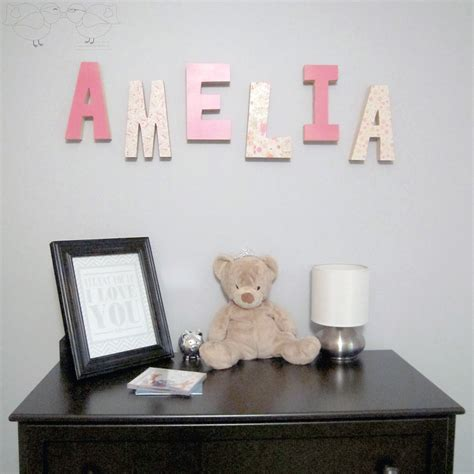 Bed And Biscuit Greensboro Nc by Decorative Wooden Letters Nursery Bed And Biscuit