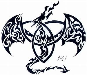 Celtic Knot Dragon - ClipArt Best