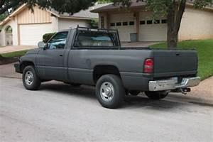 Dodge Ram 2500 Standard Cab Pickup 1994 Flat Black For
