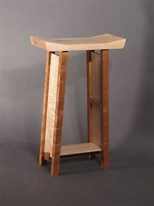 Items similar to Bar Stools- Modern Zen Wood Bar- Narrow
