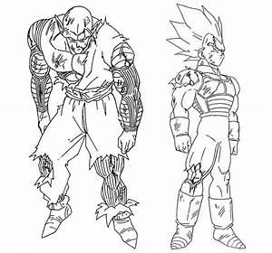 Best Dragon Ball Z La Batalla Delos Dioses Para Colorear Image