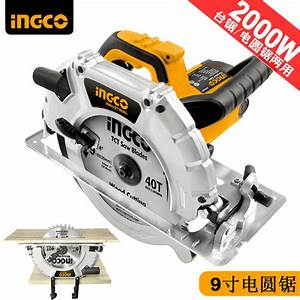 Circular Saw Household Desktop Dual Use Wood  Pvc   Hand