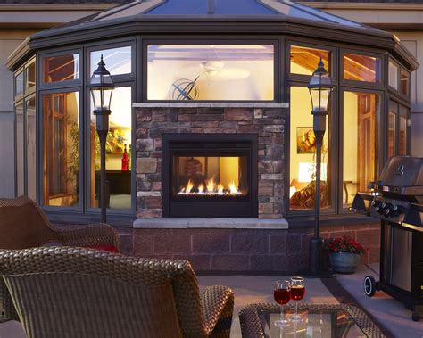 twilight modern fireplace  heat glo wins  ibs