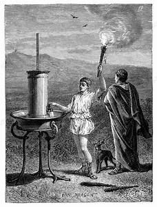 Hydraulic Telegraph  Ancient Greece
