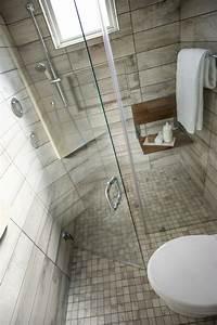 salle de bain avec douche italienne en quelques idees deco With douche a l italienne petite salle de bain
