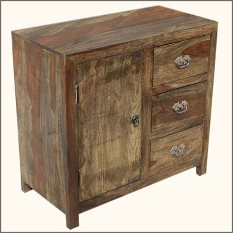 appalachian rustic  drawer kitchen buffet storage cabinet